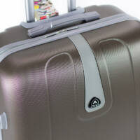 3 db-os bőrönd szett bronz színben