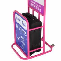 Leonardo Da Vinci Bőrönd kabin méret WIZZAIR méret