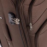 ORMI 3 db-os bőrönd szett sötétbarna színben
