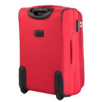 ORMI 3 db-os bőrönd szett piros színben