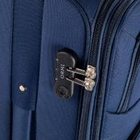 ORMI Bőrönd nagy méret kék színben