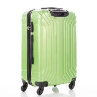 LEONARDO DA VINCI 507 4 db-os bőrönd szett Limezöld színben