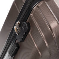 LEONARDO DA VINCI 507 4 db-os bőrönd szett Bronzos gesztenye színben