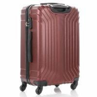 LEONARDO DA VINCI 507 4 db-os bőrönd szett Bordó színben