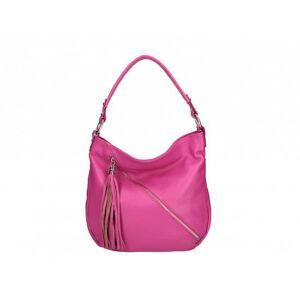 Valódi bőr női táska fukszia színben S7135 Fuchsia