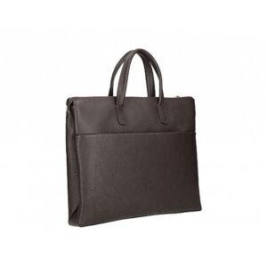 Valódi bőr üzleti táska Sötétbarna színben C315 DarkBrown