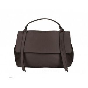 Valódi bőr női táska sötétbarna színben M9058 DarkBrown