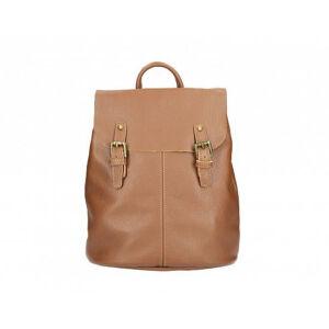Valódi bőr hátizsák barna színben S7159 Brown