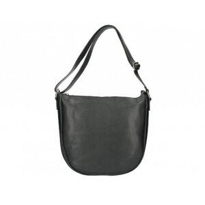 Valódi bőr női táska fekete színben S7186 Black