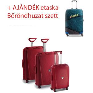 Roncato Light Bőrönd szett 3 db-os + ajándék 3 db-os bőröndhuzat szett