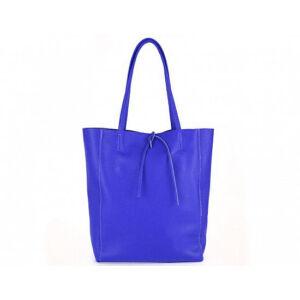 Valódi bőr női táska royalkék színben S7080 Bluette