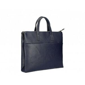 Valódi bőr üzleti táska Sötétkék színben C315 BlueNavy