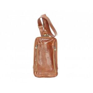 Valódi bőr férfi válltáska Konyak színben TR201 Cognac