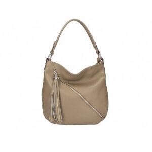 Valódi bőr női táska sötéttaupe színben S7135 DarkTaupe
