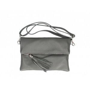 Valódi bőr női táska sötétszürke színben TR161 DarkGrey