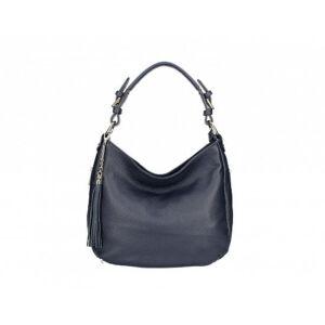 Valódi bőr női táska sötétkék színben S7164 BlueNavy