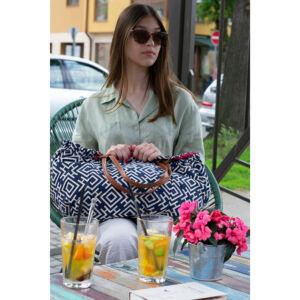Nyári vászon női táska 430-blue