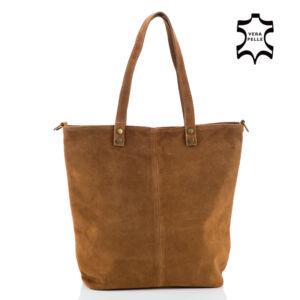 Valódi velúrbőr női táska