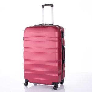 BONTOUR Bőrönd nagy méret bordó színben