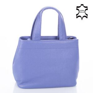 Valódi bőr női táska orgonalila színben