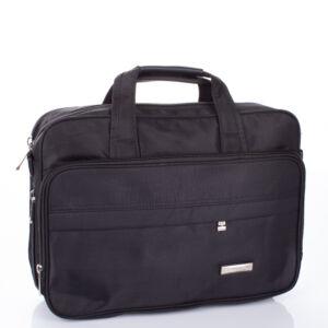 Fekete 4 részes üzleti táska laptoptartóval 68005