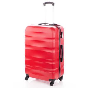 BONTOUR Bőrönd nagy méret piros színben