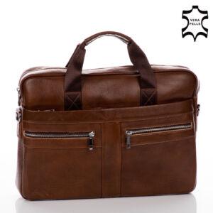 GIULIO COLLECTION Valódi bőr üzleti táska