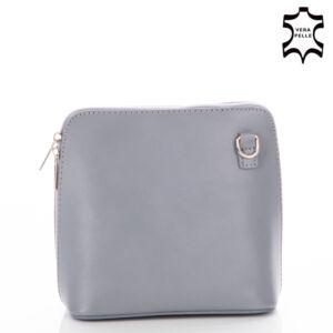 Valódi bőr női táska NT 956 grey