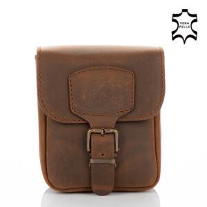 Valódi bőr  övre fűzhető táska egyrészes
