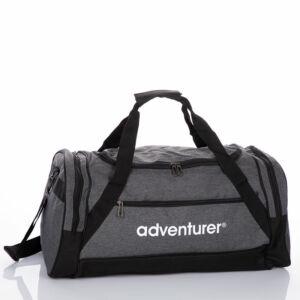 Adventurer utazótáska szürke színben AT5231