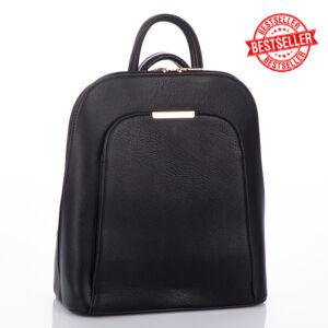 Női hátizsák tablet tartóval fekete színben 15629 Black