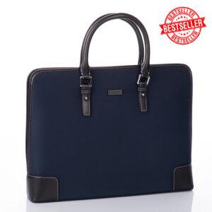 BALLERY üzleti táska sötétkék színben