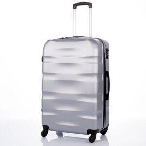BONTOUR Bőrönd nagy méret ezüst színben