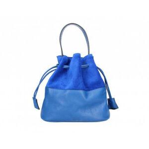 Valódi bőr női táska M9050 Kék