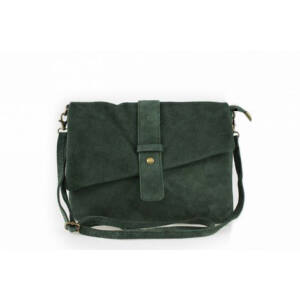 Valódi bőr női táska Zöld