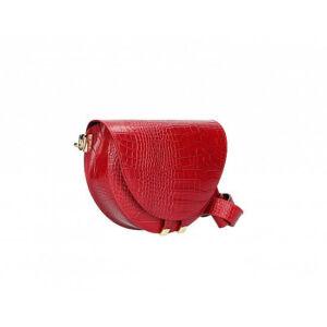 Valódi bőr női táska TR182 Red