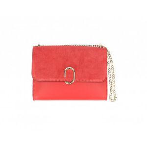 Valódi bőr női táska TR192 Piros