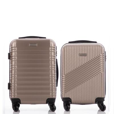 LEONARDO DA VINCI Bőrönd szett kabin méret ÚJ WIZZAIR méret