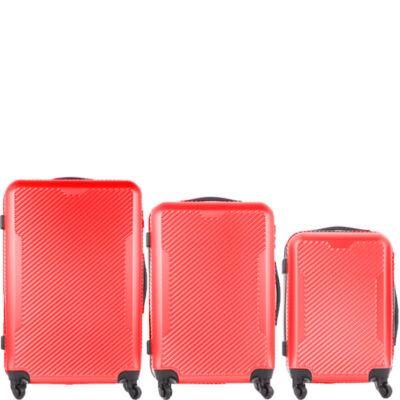 LeonardoDaVinci 3 db-os bőrönd szett