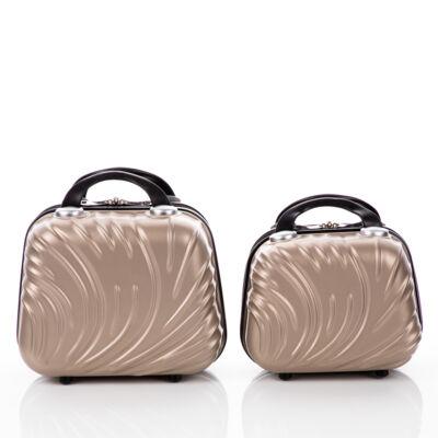 2 részes kozmetikai táska szett