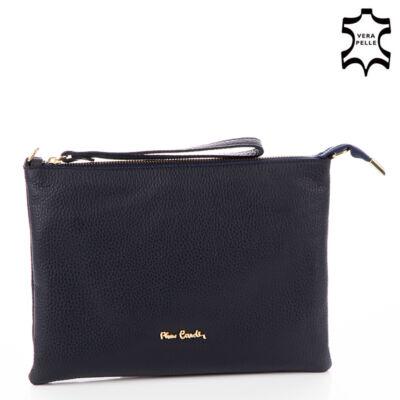 Pierre Cardin sötétkék valódi bőr női táska CL19Y50 Darkblue