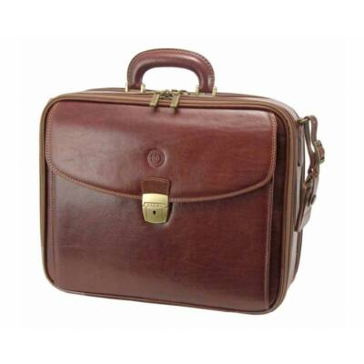 Giudi valódi bőr laptop táska G3082TV