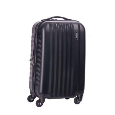 Yearz Spinner bőrönd kabin méret 5 év Garanciával Fekete színben