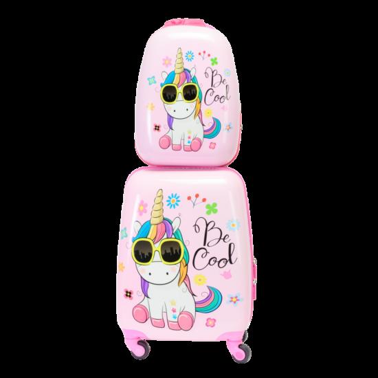 Unikornis egyszarvú gyermek bőröndszett 2 db-os