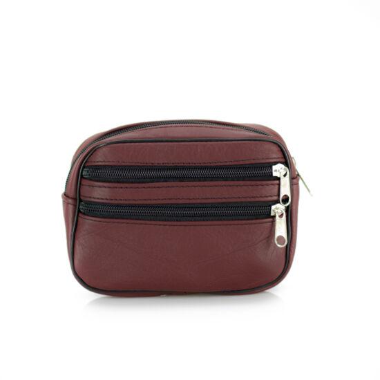 Valódi bőr  övre fűzhető táska*