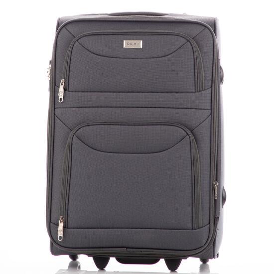 Bőrönd kabin méret 6802 Szürke színben RYANAIR ÚJ WIZZAIR méret