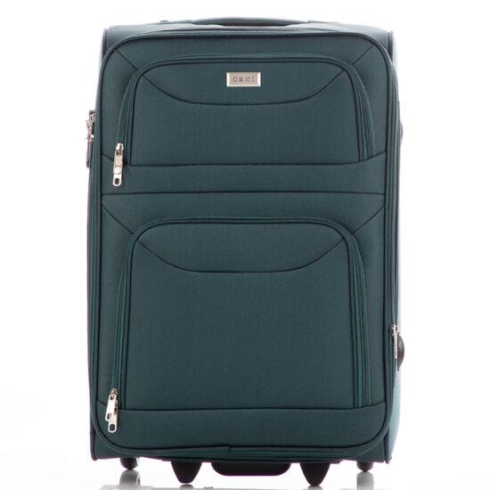 Bőrönd kabin méret 6802 Zöld színben RYANAIR ÚJ WIZZAIR méret