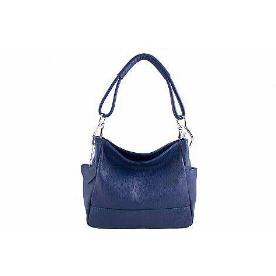Valódi bőr női táska Kék színben S6914 Blue