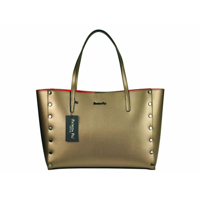 Patrizia Piu Bronz Valódi bőr Valódi bőr női táska Katt rá a felnagyításhoz cb92d89259