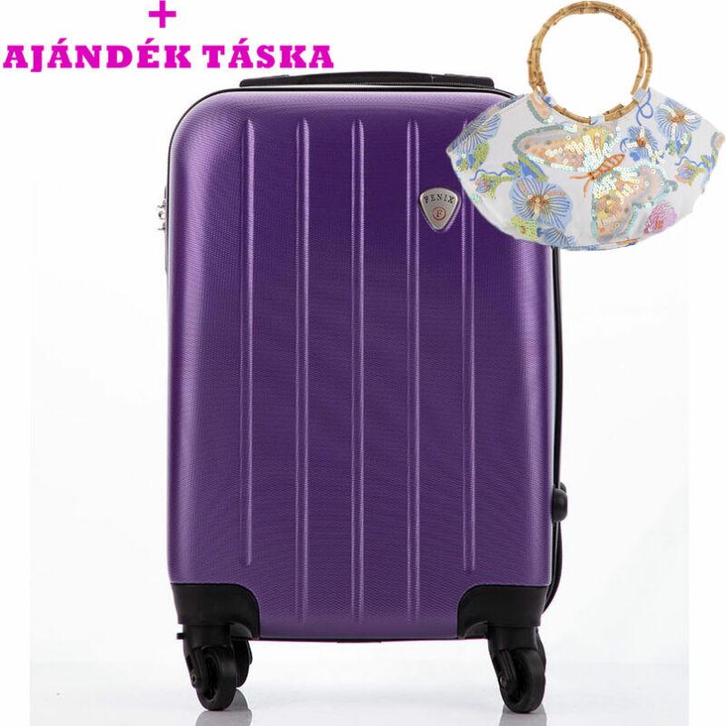 e1e4339bd146 FENIX Bőrönd kabin méret ÚJ WIZZAIR RYANAIR méret levehető kerékkel+  ajándék táska AKCIÓ Katt rá a felnagyításhoz